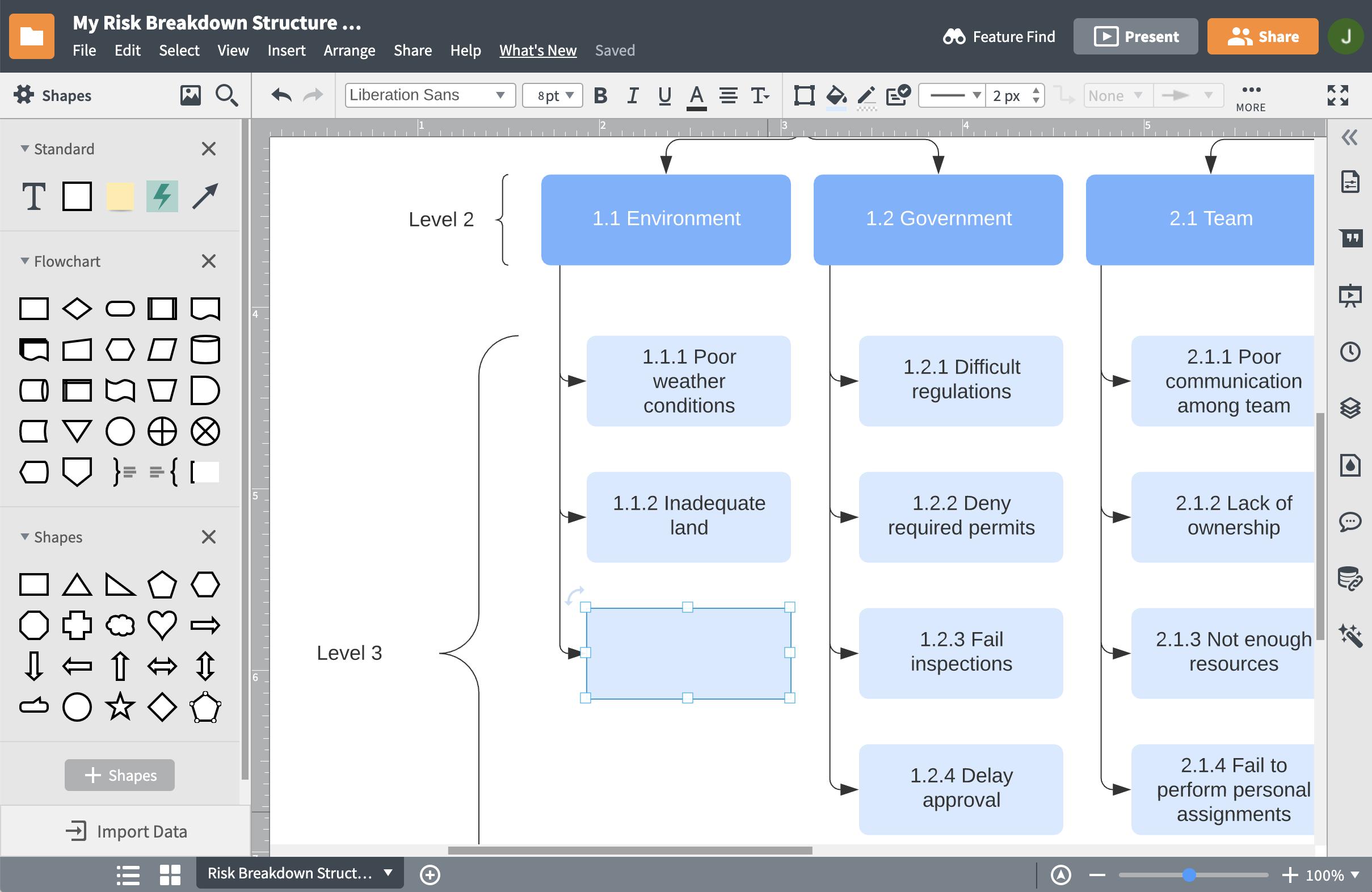 work breakdown structure software