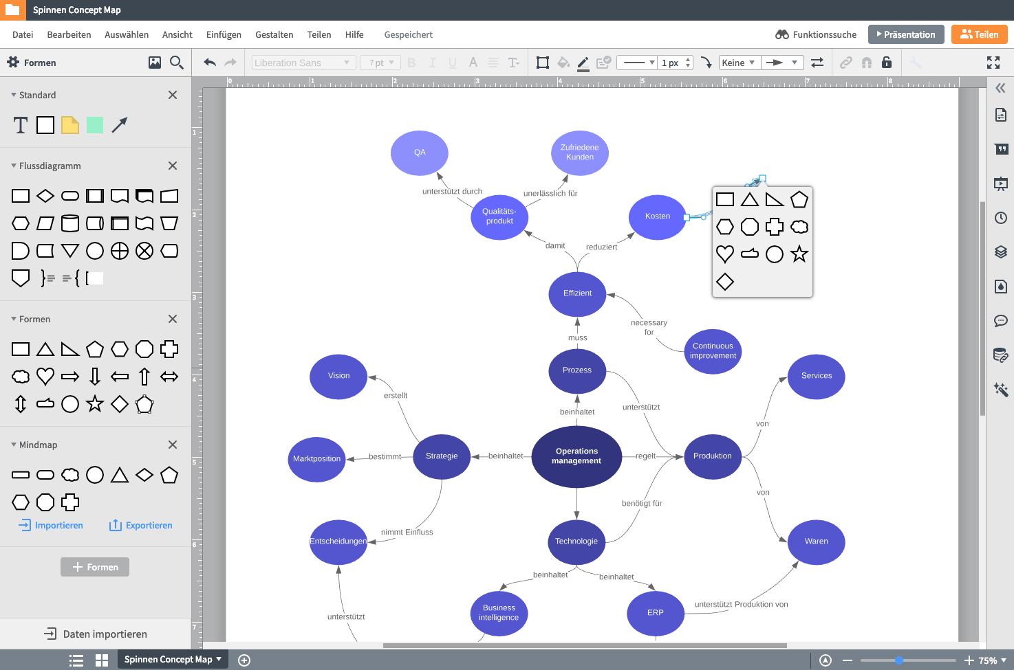Concept Map App