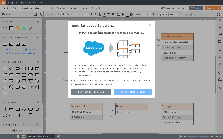 Programa para hacer diagrama de entidad relacion