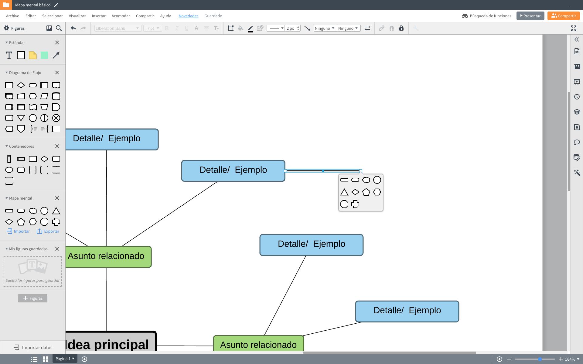 Crear mapa mental online