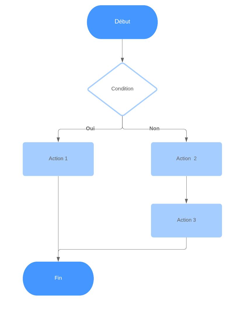 Algorigramme Structure Alternative