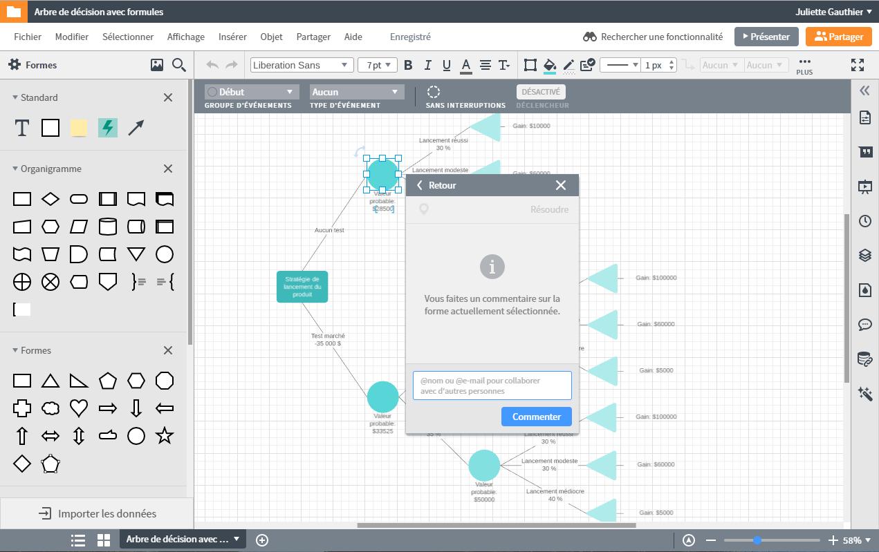 Travailler en équipe avec Lucidchart, le logiciel alternatif à visio sur Mac et gratuit