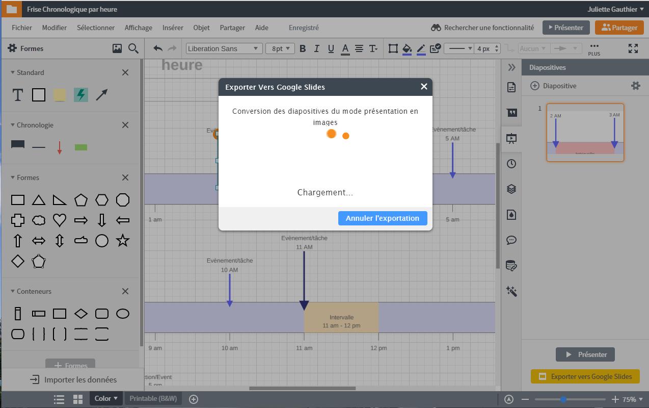 Exporter vos diagrammes Lucidchart fait sur Mac dans G Suite