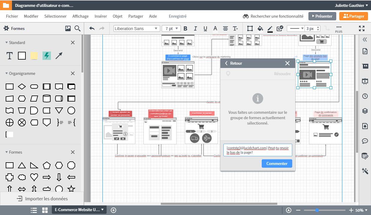 Collaborer en ligne avec notre logiciel Lucidchart qui remplace visio