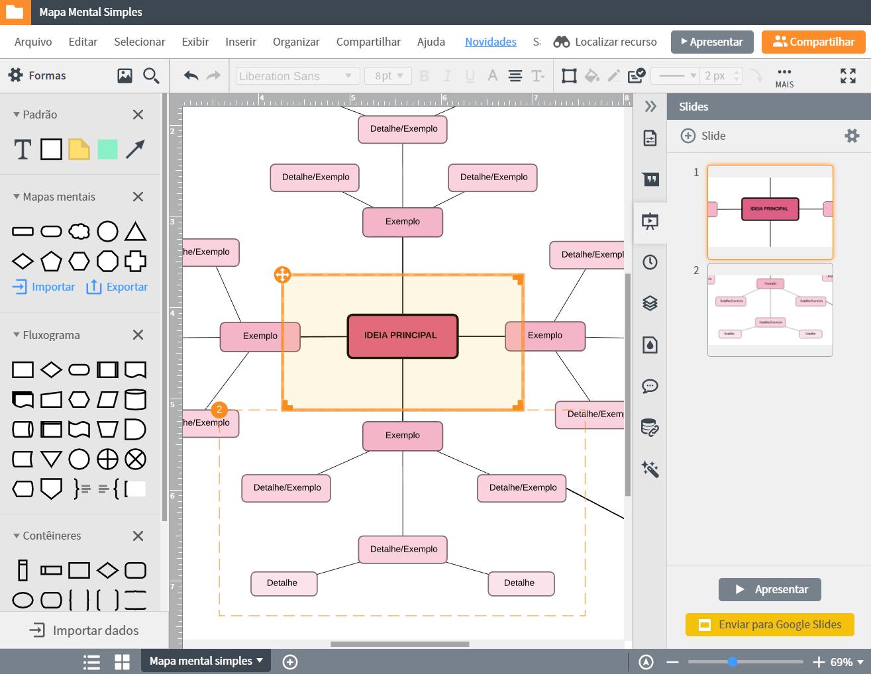 Programa para fazer mapa mental