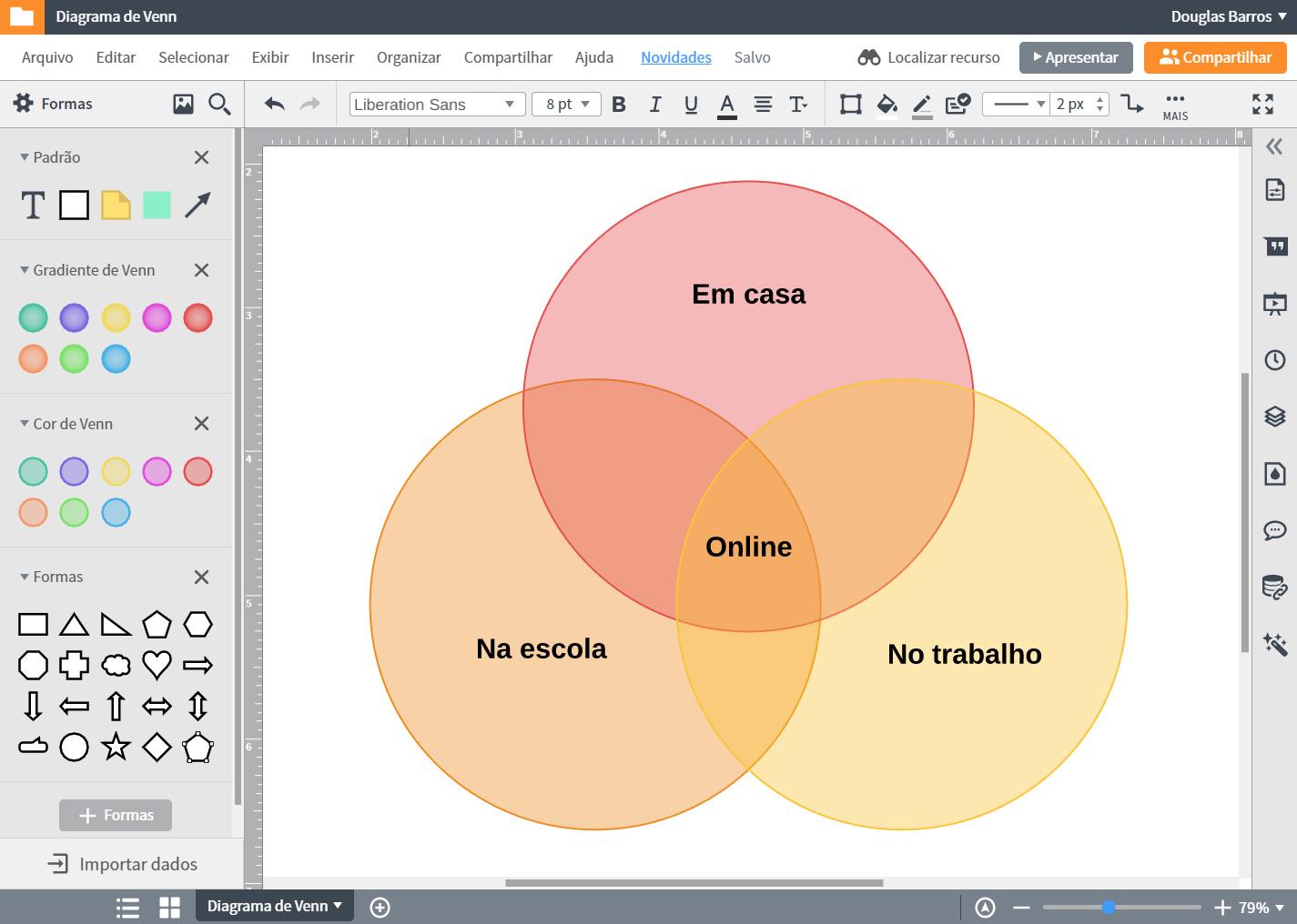 Programa de fazer diagrama de venn online grátis