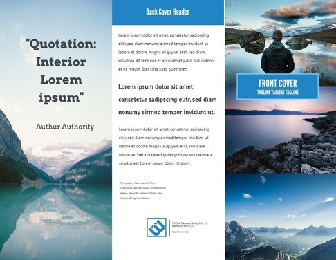 Big Sky Brochure Layout