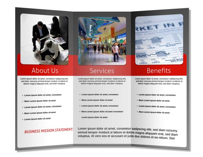 Week 5 portafolio de evidencias for Pamphlet brochure template