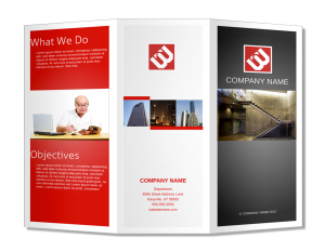 How To Design Make A Brochure That Stands Out - Basic brochure template