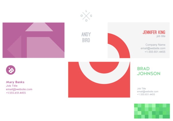 Free business card maker online business card design business card examples wajeb