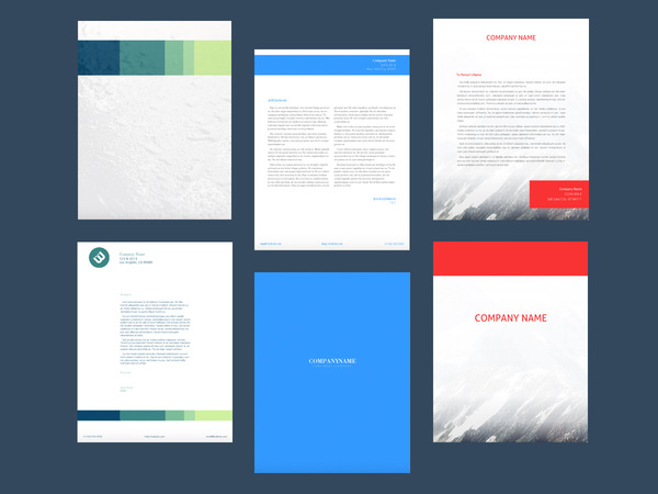 stationery template examples