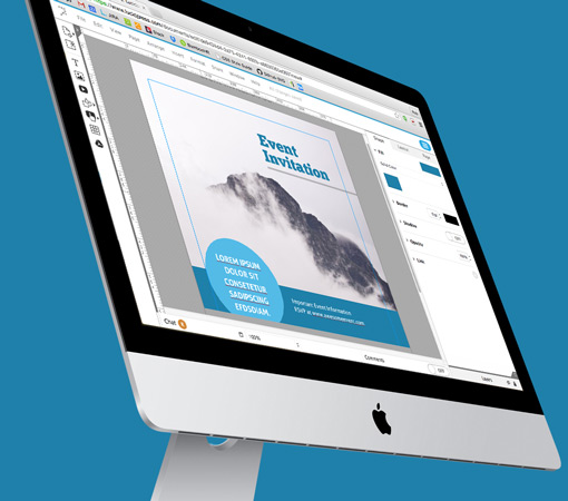 brochure layouts on a mac