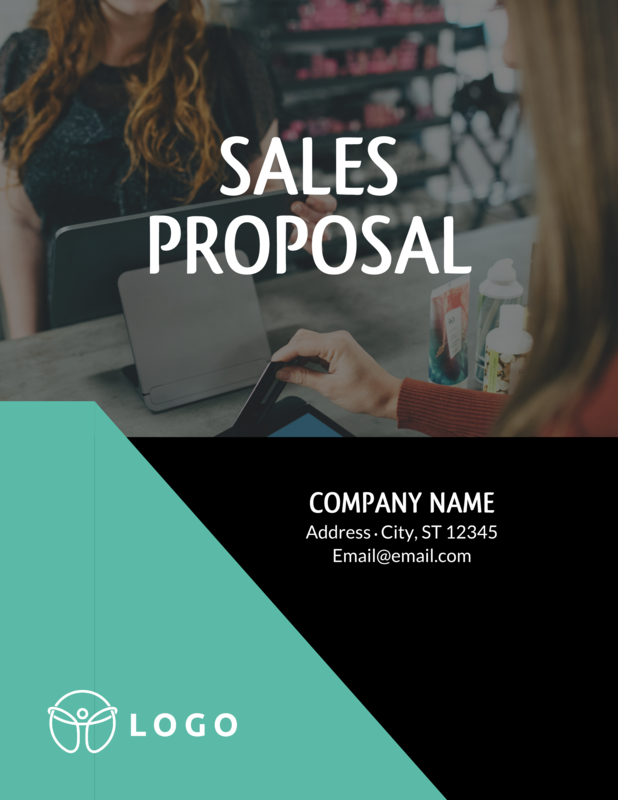 Asymmetrical sales proposal template