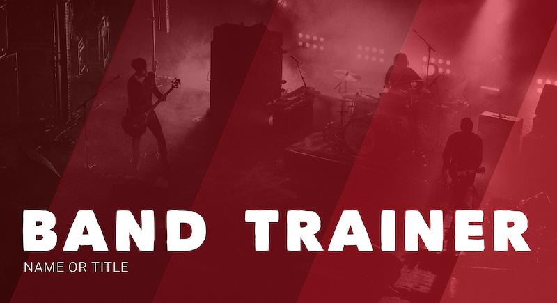 Band YouTube Banner Template