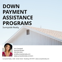 Down Payment Facebook Post Template
