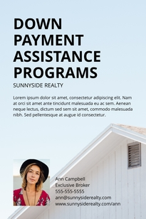Down Payment Pinterest Post Template