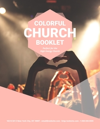 Church Booklet Template