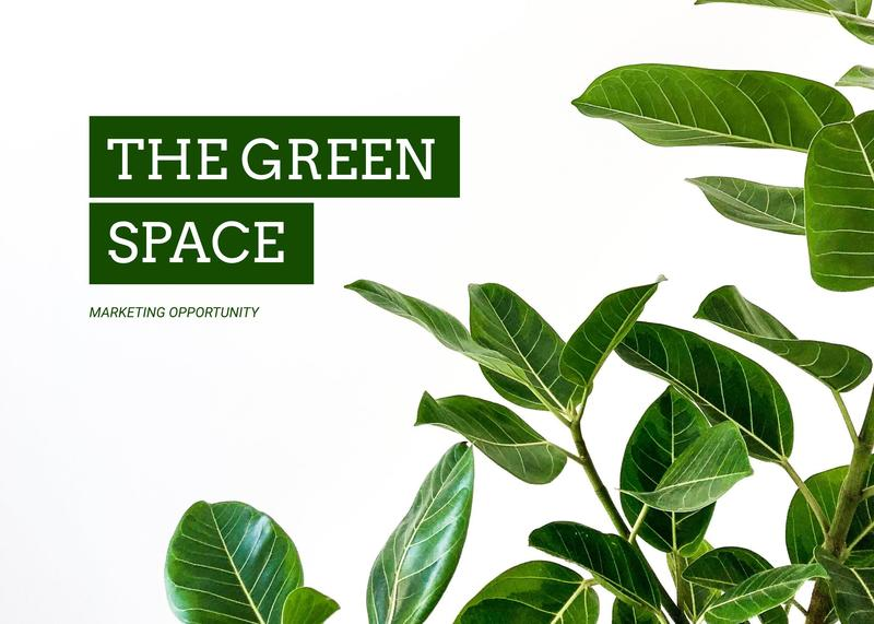 The Green Space Pitch Deck