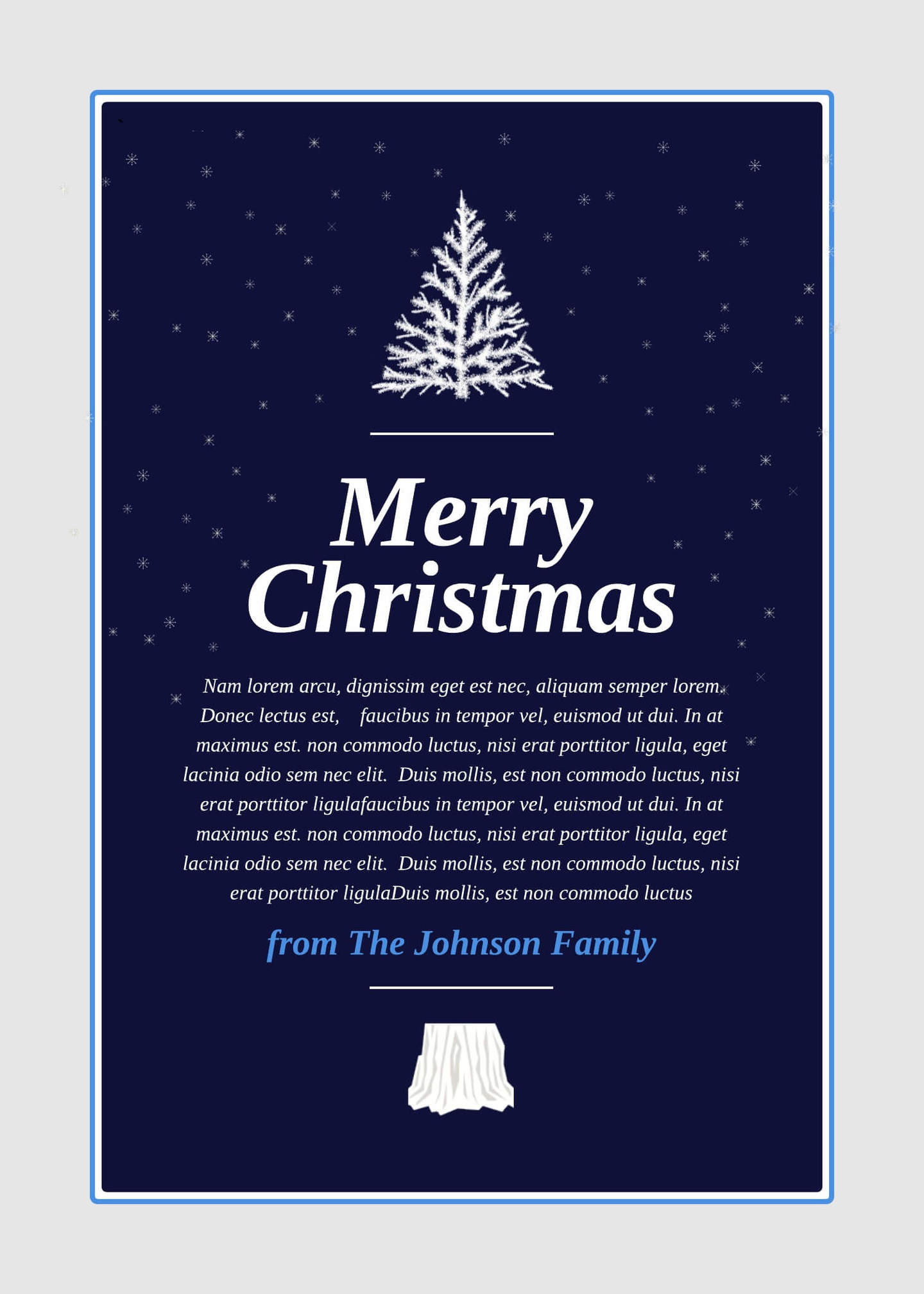18 Free Holiday Templates Examples Lucidpress – Holiday Card Template