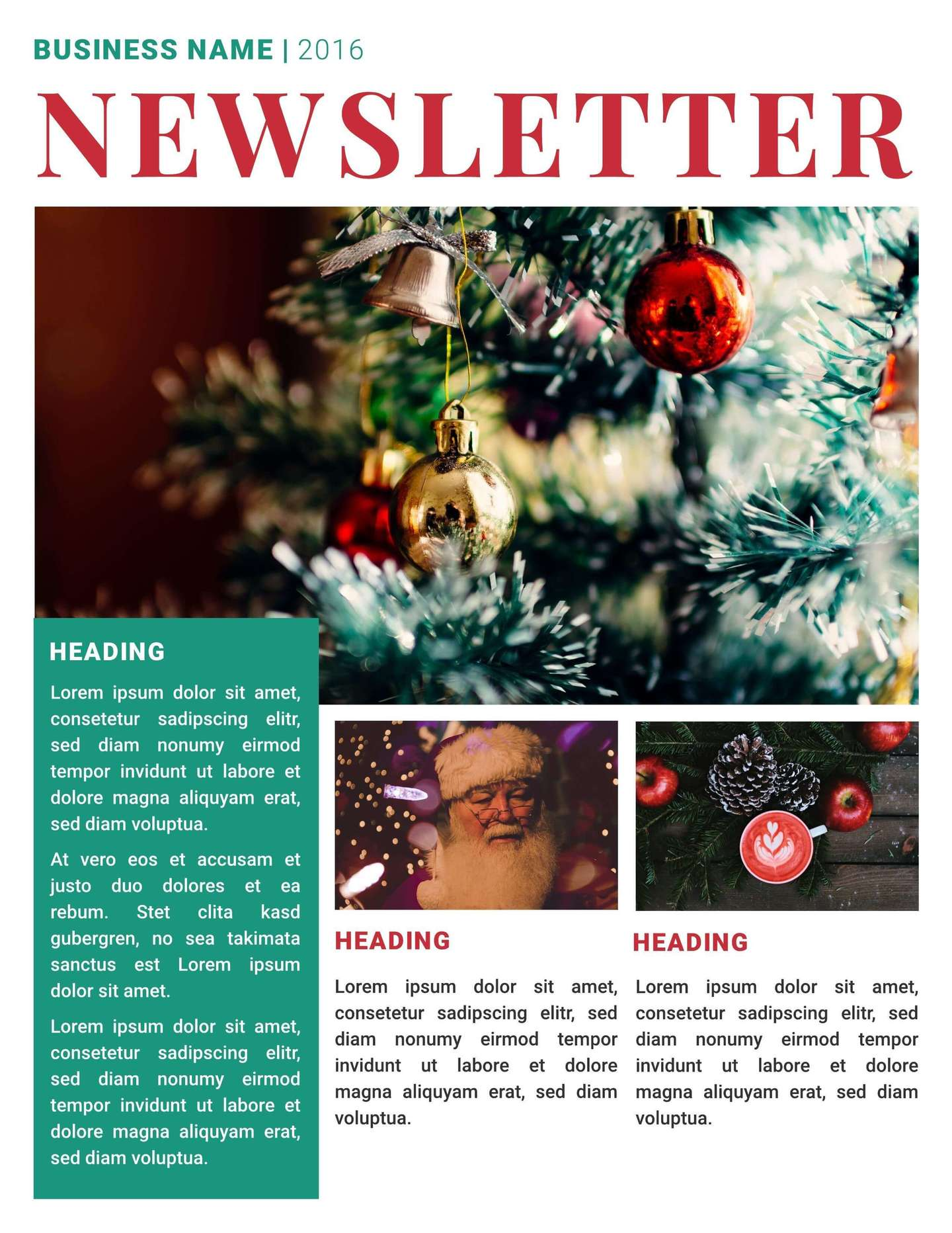 business christmas newsletter