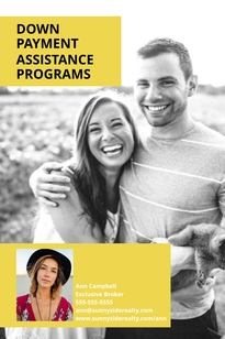 Home Buyers Pinterest Post Template