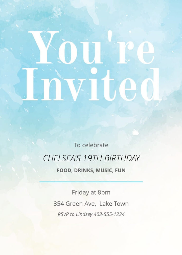Free Printable Invitation Card Templates Lucidpress