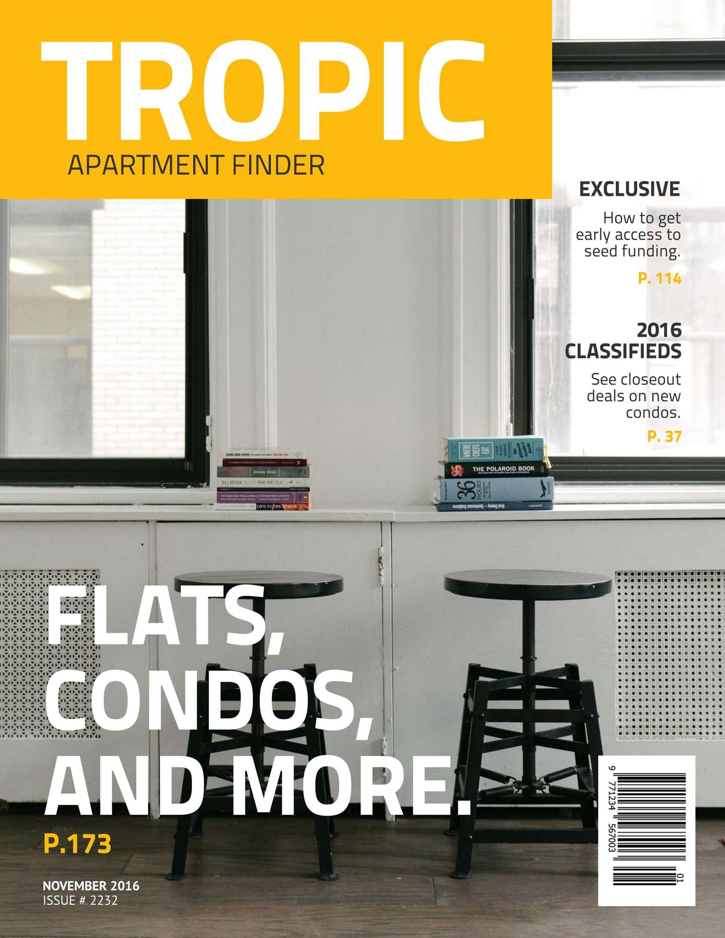 tropic magazine cover template