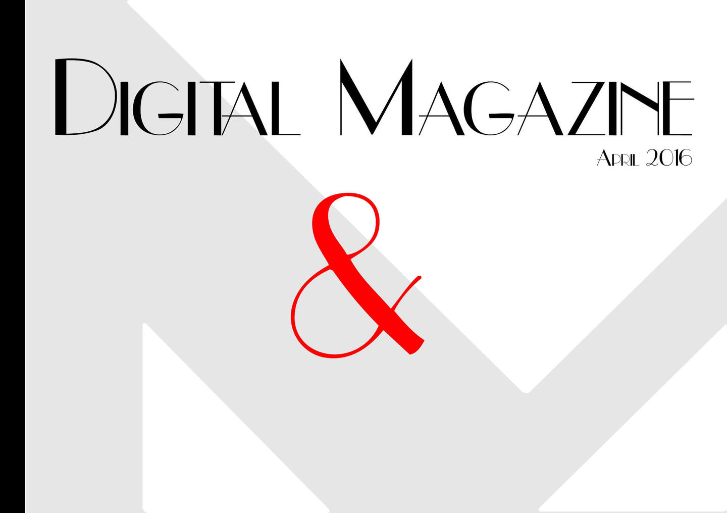 Free Magazine Templates Magazine Cover Designs