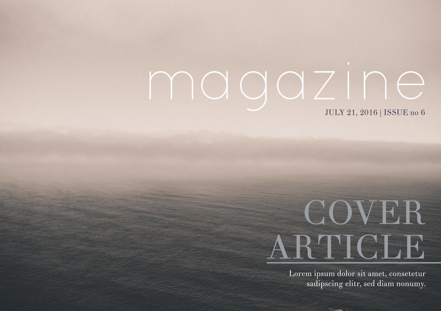 Free Magazine Templates Cover Layouts Free Templates - Online magazine template