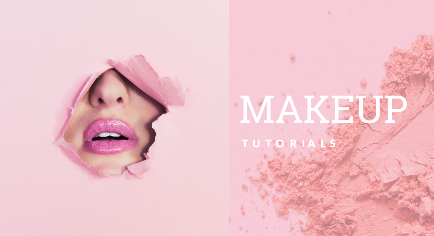 Makeup YouTube <br> banner template