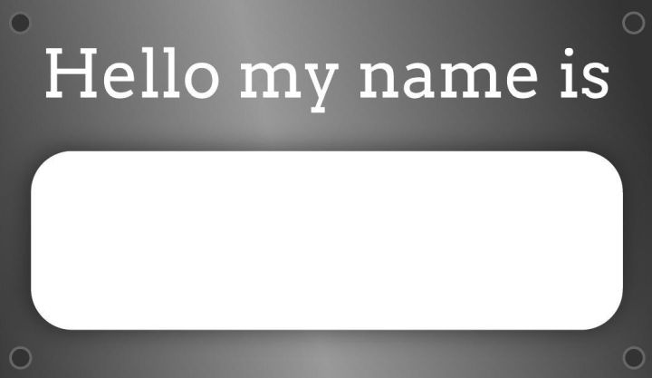 Name Tag Label Templates Examples Lucidpress - Name tags templates