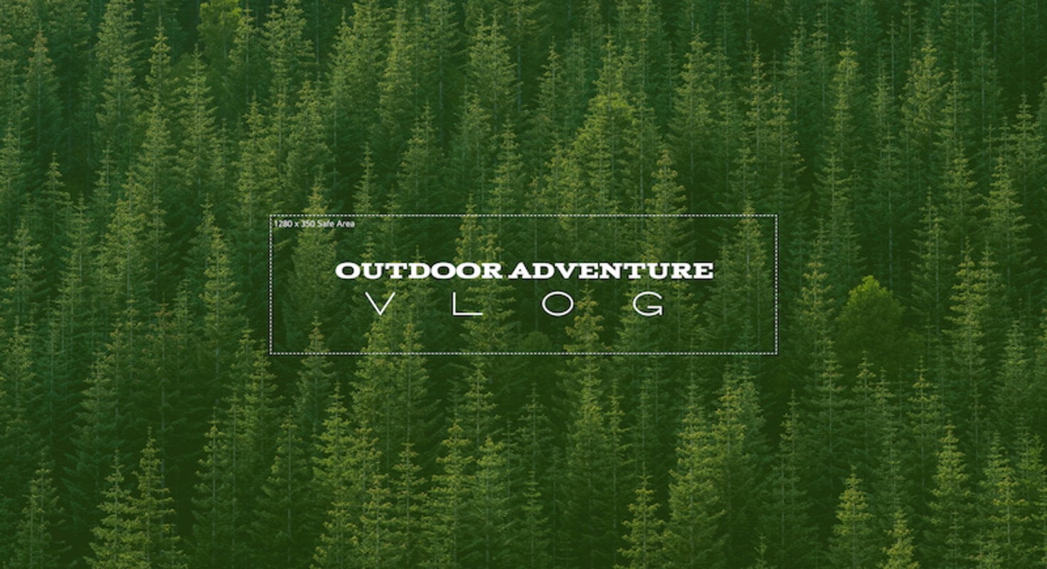Outdoor YouTube Channel Art
