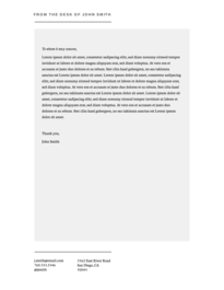 Microsoft Word letterhead alternative