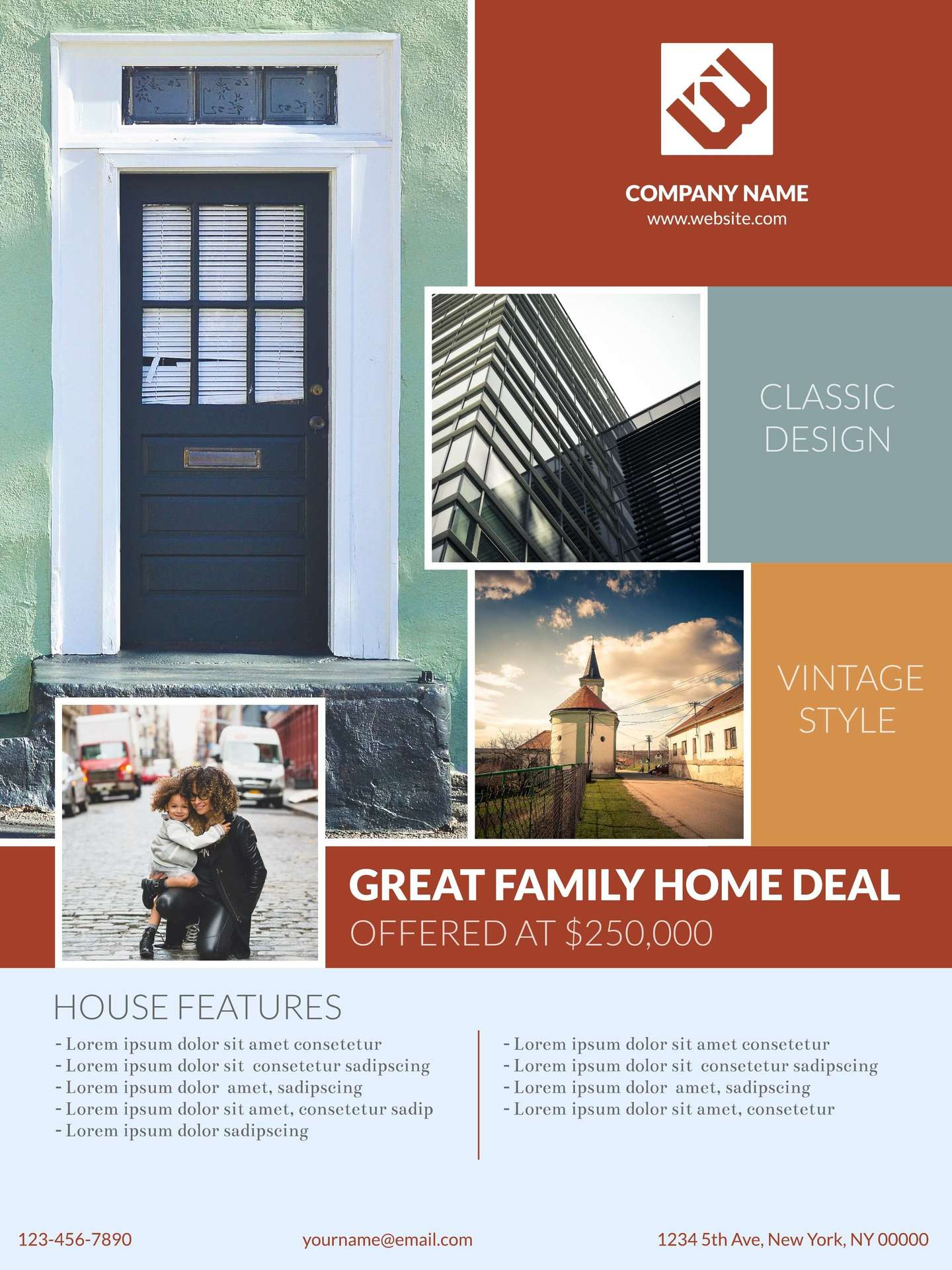 real estate poster example