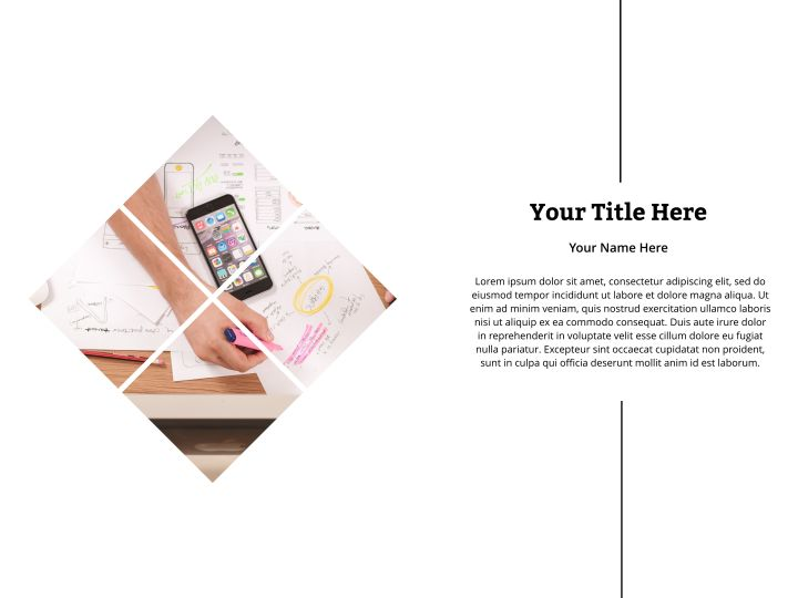Quarter Sales Presentation Template 01