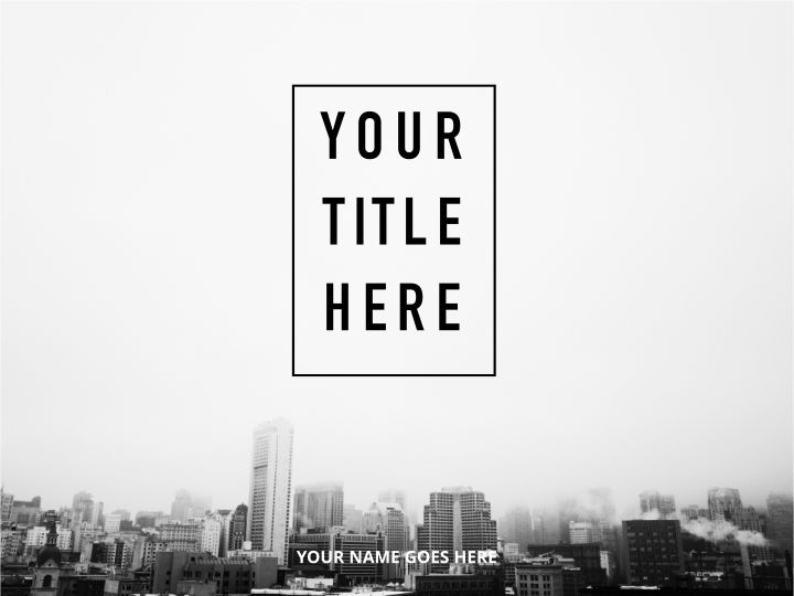 Top Floor Simple Presentation Template 01