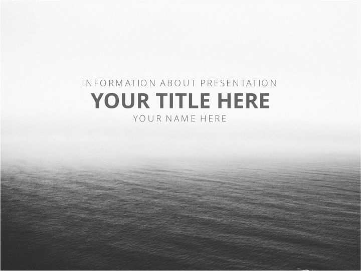 Vastness Simple Presentation Template 01