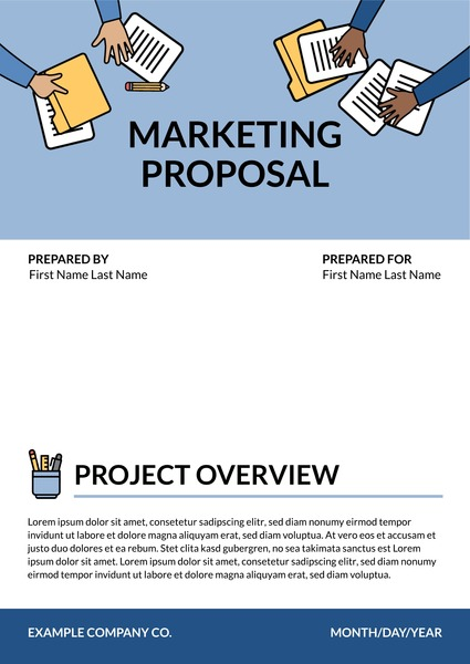free marketing proposal templates and examples lucidpress