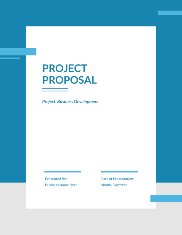 Strategic Project Proposal Template