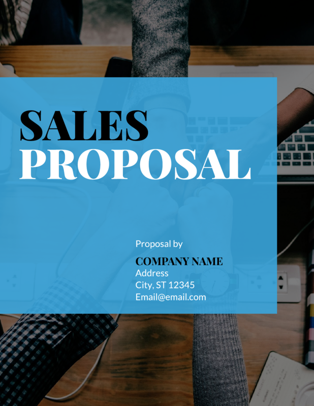 Team Sales Proposal Template