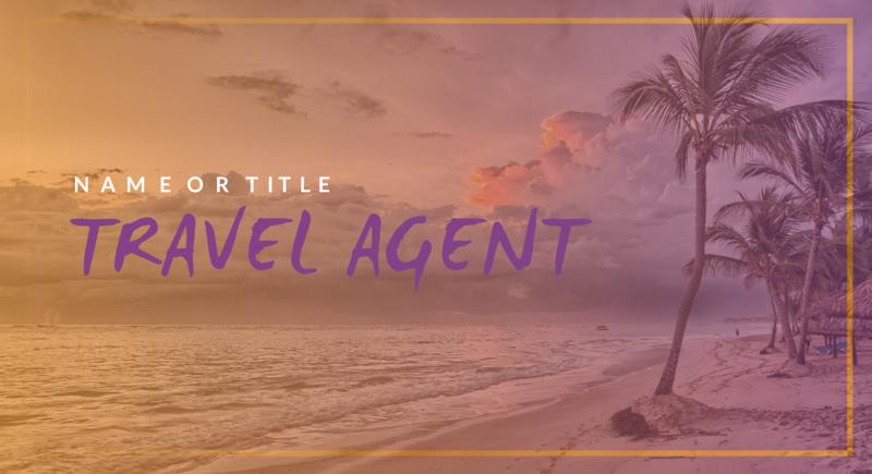 Travel Agent YouTube Banner