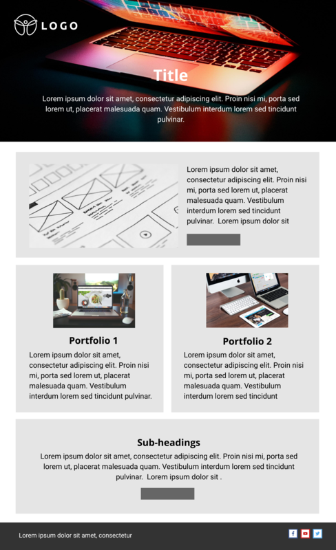 Website Design Email Template