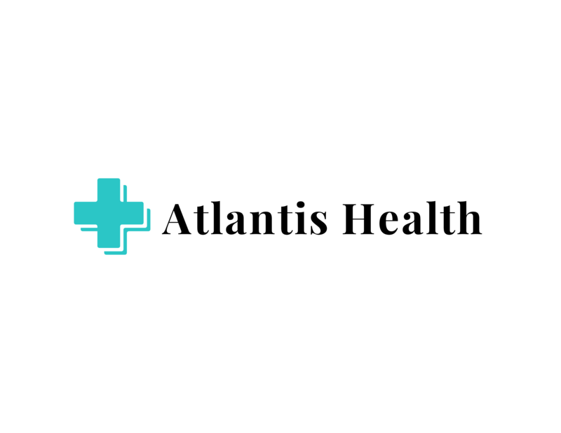 Atlantis health logo template