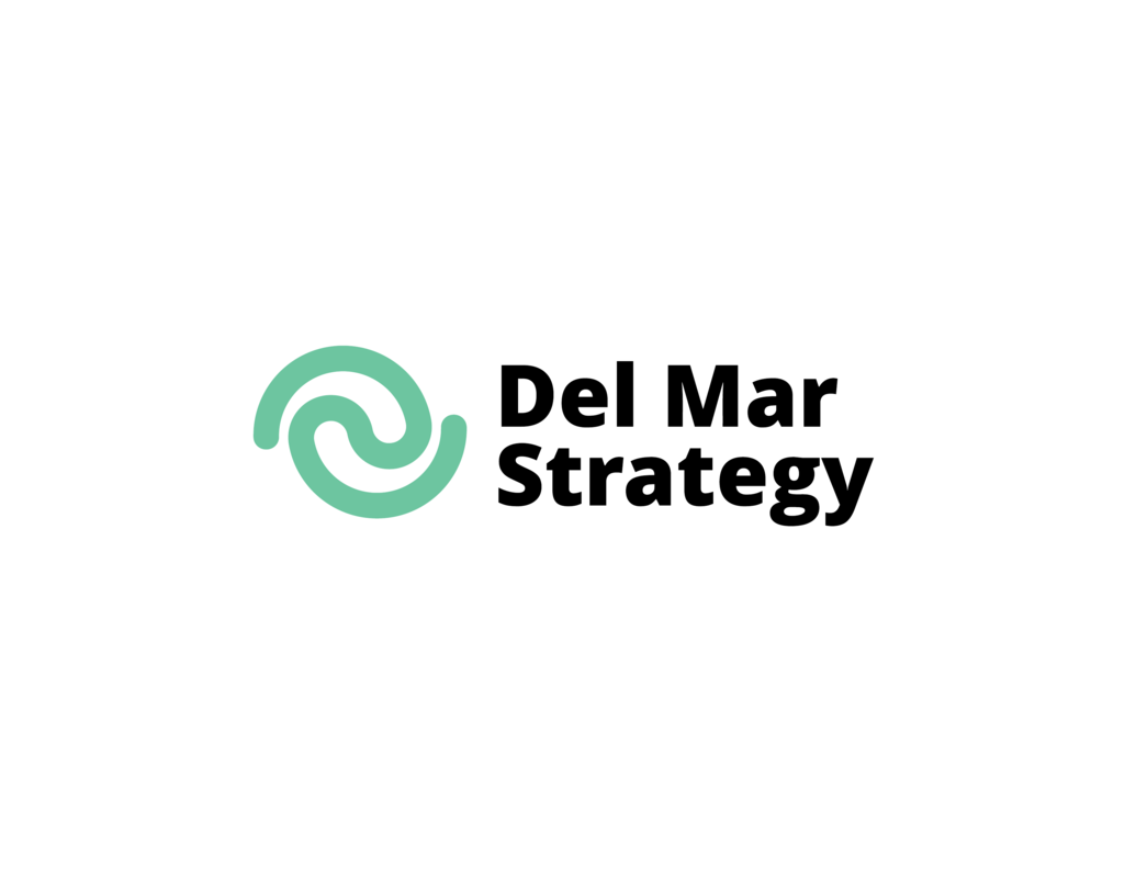 Del Mar Strategy Logo Template