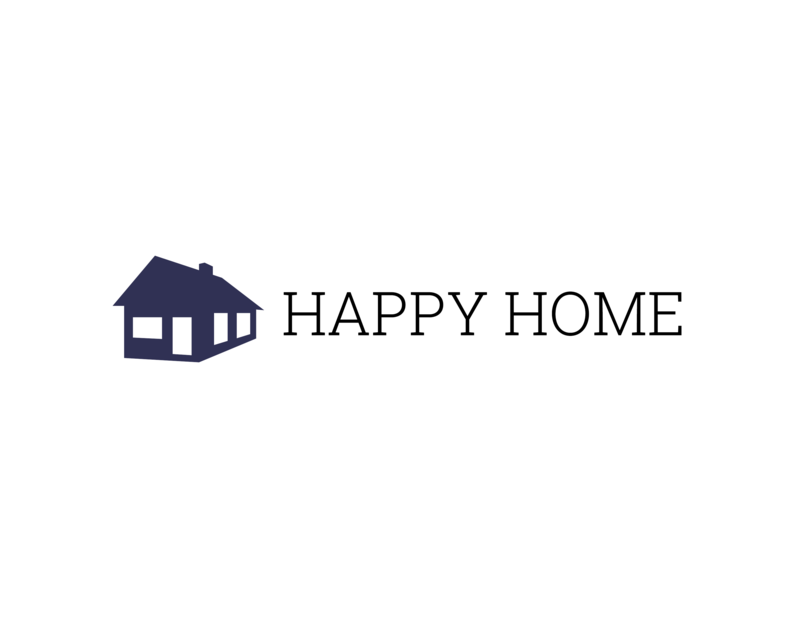 Happy Home Logo Template