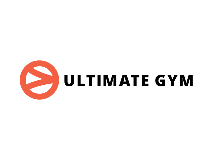 Ultimate gym logo template