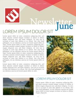 Classroom Newsletter Template | Lucidpress