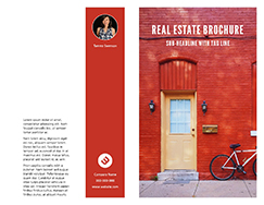 Online Brochure Maker Create Custom Brochures Free Templates - Real estate sales brochure template