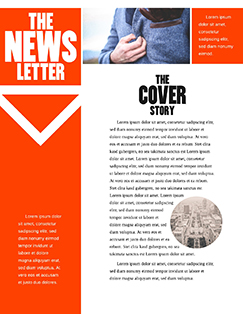 corporate newsletter free newsletter template