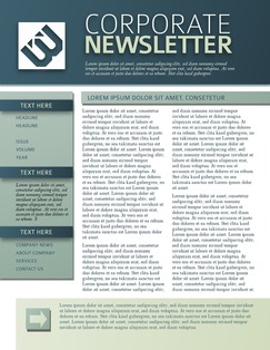 Newsletter Maker Design Newsletters Online Free Templates - Online newsletter templates